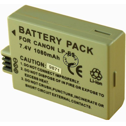 achat batterie canon eos 500d batteries appareils photo. Black Bedroom Furniture Sets. Home Design Ideas
