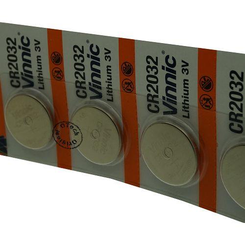 achat pile vinnic cr2032 piles cr2032 les batteries du web. Black Bedroom Furniture Sets. Home Design Ideas
