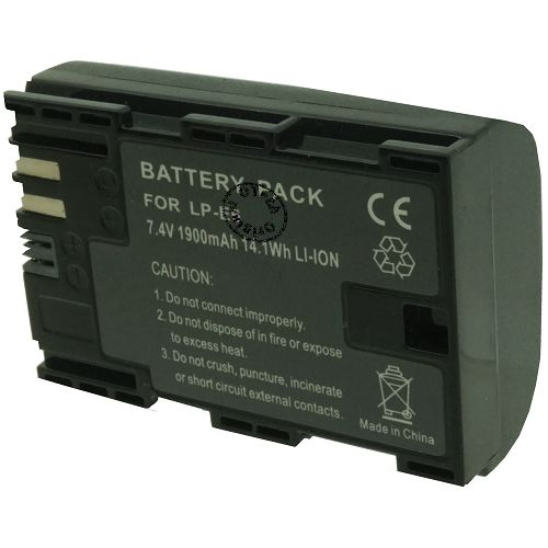 achat batterie canon lp e6 batteries appareils photo lp e6. Black Bedroom Furniture Sets. Home Design Ideas