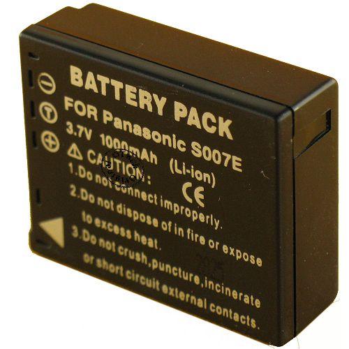 achat batterie panasonic lumix dmc tz5 batteries. Black Bedroom Furniture Sets. Home Design Ideas