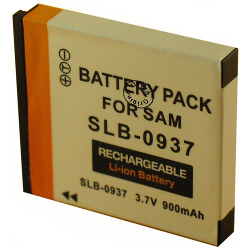 achat batterie samsung slb 0937 batteries appareils photo. Black Bedroom Furniture Sets. Home Design Ideas