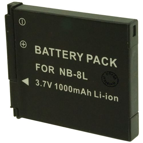 achat batterie canon nb 8l batteries appareils photo nb 8l. Black Bedroom Furniture Sets. Home Design Ideas