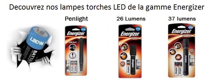 Lampes torche LED Energizer