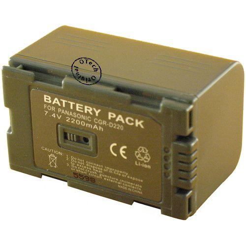 Otech Batterie Compatible pour PANASONIC CGA-DU07
