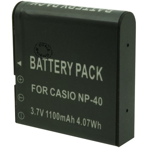 Batterie Appareil Photo pour CASIO EXILIM EX-FC100WE