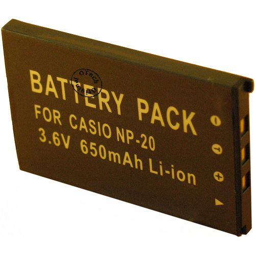 Batterie Appareil Photo pour CASIO EX-Z75BE