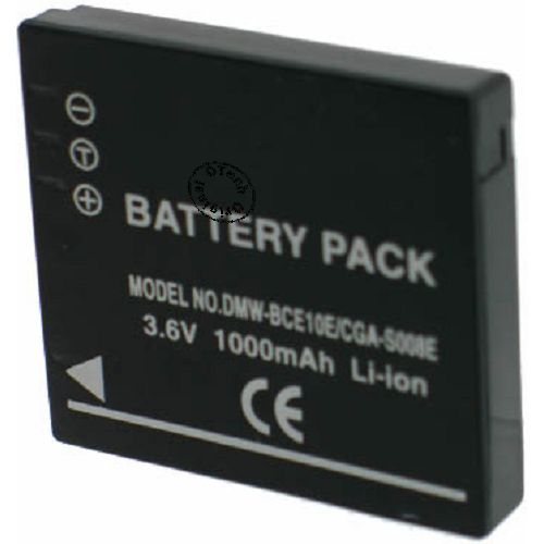 Batterie Appareil Photo pour PANASONIC LUMIX DMC-FX30EG-K