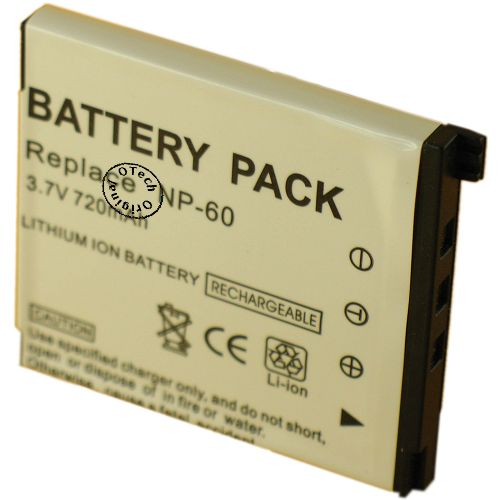 Batterie Appareil Photo pour CASIO EXILIM EX-Z80BE