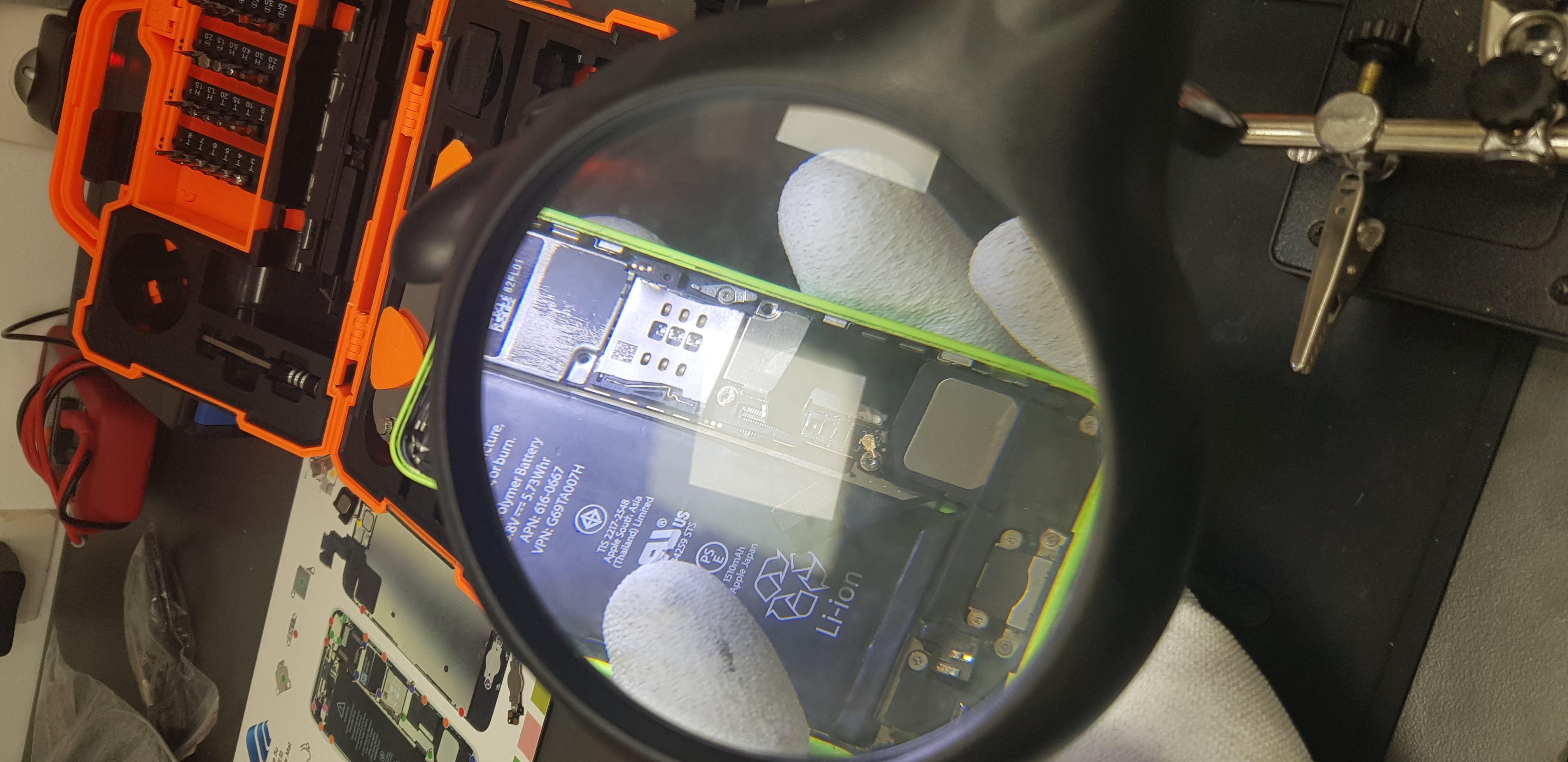 Changement batterie de smartphone à Nice