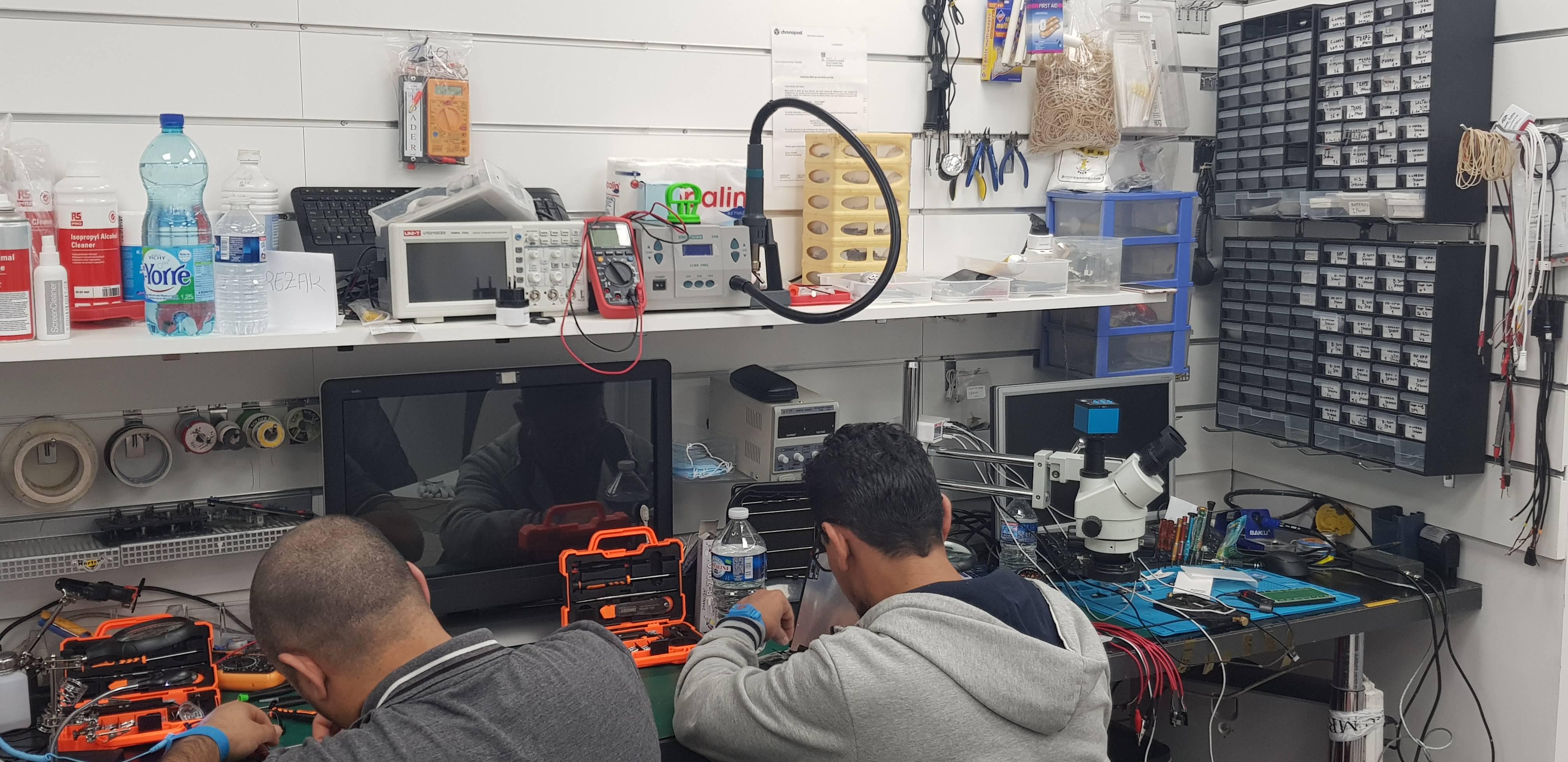 Atelier de reparation smartphone et tablette à Nice