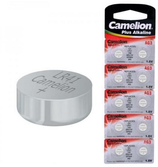 pack de 10 piles camelion modele ag3 lr41 392 192. Black Bedroom Furniture Sets. Home Design Ideas
